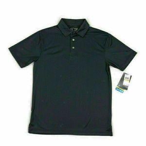PGA Tour Mens Golf Polo Shirt Wick Stretch Small